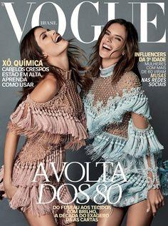 Alessandra Ambrosio & Isabeli Fontana Cover Vogue Brazil October 2016