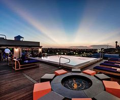 Soda Bar at the Nylo Hotel, Dallas (America's Coolest Rooftop Bar)
