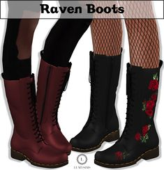 Raven Boots