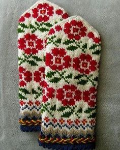Knitted Gloves, Baby Gifts, Christmas Sweaters, Deer, Knitwear, Embroidery, Knitting, Blog, Prints