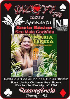 OFF FLIP PARATY RJ  Maria Tereza (Maria Tereza Cavalcante Cardoso Filha) nasceu em 26 de abril do ano de 1990, em Petrolina, Pernambuco.  #Flip #Flip2016 #FLIPse #Flipinha #FlipZona #literatura #educação #OffFlip #SeloOffFlip #cultura #turismo #arte #VisiteParaty #TurismoParaty #Paraty #PousadaDoCareca #PartiuBrasil #MTur #boatarde #boatardee