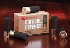 Hornady Manufacturing Company :: Ammunition :: Shotgun :: Buckshot :: 12 ga 00 Buckshot Critical Defense®