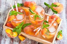 Want to taste the entirely different Sangria? Check on these recipes of Sangria (a blend of Cabernet Sauvignon). Enjoy these crazy Sangria concoctions. Iced Tea Lemonade, Peach Ice Tea, Peach Lemonade, Peach Whiskey, Whiskey Sour, White Peach Sangria, Sour Foods, Ginger Peach, Peach Juice