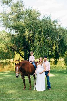 Maternity Photography | Sibling | Horses | Country Maternity | Megan Jones Photography | NC Photography