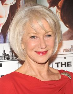 Helen Mirren - great length with soft layers and beautiful color.