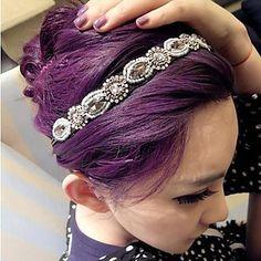 Lureme Fashion BLINGBLING Crystal Hairband – USD $ 9.99