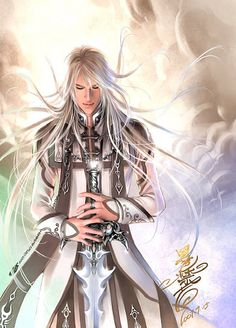 by Heise Jinyao, also what I imagine Frost to look like