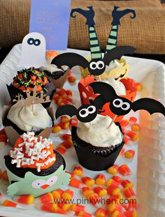 halloween cupcake ideas - Decorating Cupcakes For Halloween