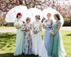 PARASOLES VINTAGE - Una Boda Original - Blog de bodas