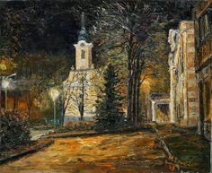 M. Lavo: Zlaté Moravce - Kostol Sv. Michala
