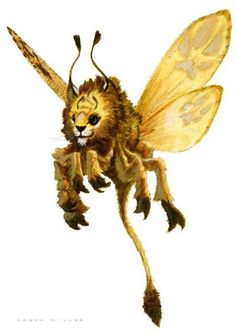 Fairy Lion by AaronMiller.deviantart.com on @deviantART