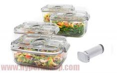 Vákuové nádoby na potraviny Status 158530 , 5 dielny set Food, Essen, Meals, Yemek, Eten
