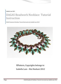 DAGAS Swarovski Pearls Czech Daggers and SuperDuo by bead4me, $7.00