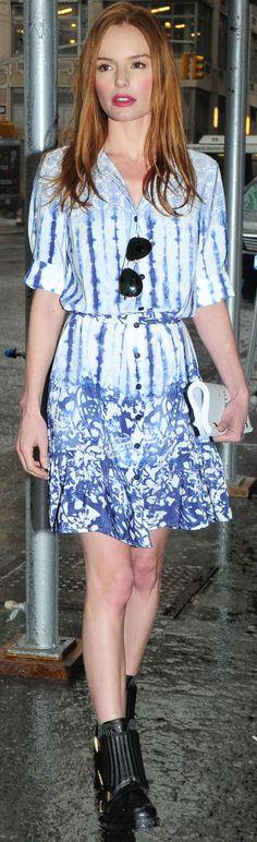 Kate Bosworth in @Peter Som for KOHLS!!