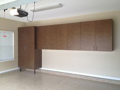 windswept bronze cabinets. we customize the cabinets to your storage needs.
