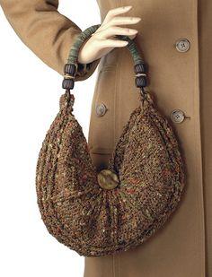 crochet pattern - creole purse