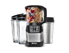 Nutri Ninja® Auto-iQ™ Compact System - OliviaCuisine loves it and says she hasn't touched her food processor since she bought this.