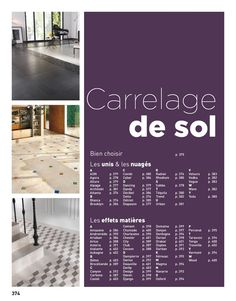 Catalogue Lapeyre Suisse - carrelage de sol