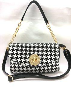 2014 das mulheres bolsa preto e branco quadriculado 6577 um ombro bolsa de moda bolsa pequena transversal do corpo em bolsa de Bolsas feitas...
