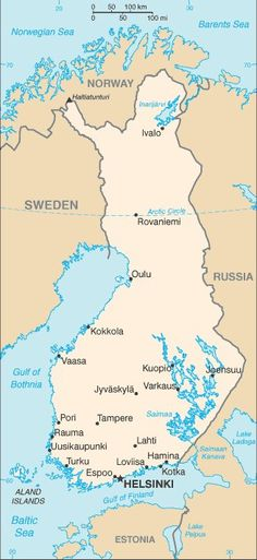 Suomi Finland and living in Turku Finland Facts, Finland Map, Finland Travel, History Of Finland, Geography For Kids, Baltic Cruise, Thinking Day, Travel Posters, Places To Travel