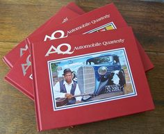 Automobile Quarterly A Q Vol 49 No's 1-2-3-4 Published 2009 Red Book Collection