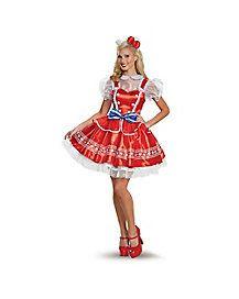 Adult Authentic Hello Kitty Costume - Hello Kitty