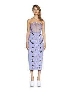 ORNAMENTAL dress #SS15  #THREEFLOOR