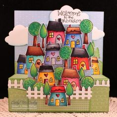 FS434 Happy Home by cathymac - Cards and Paper Crafts at Splitcoaststampers