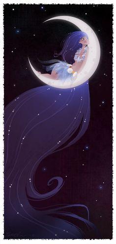 Moon:  #Crescent #Moon, Brittney Lee.