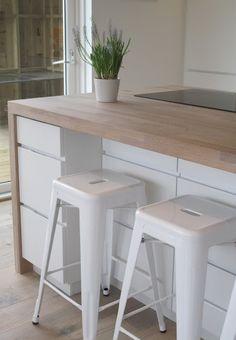 kjøkken - Elsker fargen på benkeplata