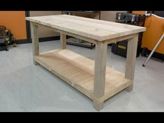 Any serious DIYer should have their own workbench, so why not use your DIY skills and make your very own.