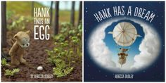 Hank Finds An Egg and Hank Has A Dream Picture Books Giveaway 12/16 - Gator Mommy Reviews