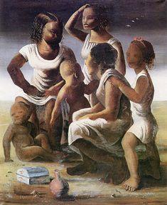 Retirantes, Candido Portinari. Portinari: o mais famoso artista brasileiro.