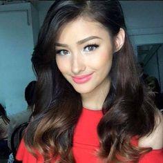 Liza Soberano, Wedding Hairstyles, Cool Hairstyles, Prity Girl, Filipina Girls, Filipina Beauty, Lovely Eyes, Gorgeous Makeup, Hey Gorgeous