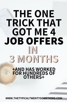 Here Is 5 Step Guide To Landing A New Job Quickly [Templates Included!] Here's a full guide on how to land a new job quickly with these 5 tips! This career advice includes free template for your job application! Job Career, Career Advice, Career Help, Career Success, Job Resume, Resume Tips, Job Interview Tips, Interview Questions, Job Interview Makeup