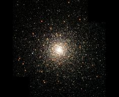 Globular cluster M80, home to hundreds of thousands of stars held together by gravity, is one of the densest clusters in the Milky Way