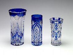 Edo Kiriko glass started in 1834 during the Edo period.