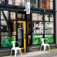 Juicebox Cafe on Behance
