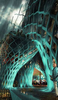 Iran Pavilion-Expo Milan 2015 | New Wave Architecture (Lida Almassian / Shahin Heidari) | Archinect