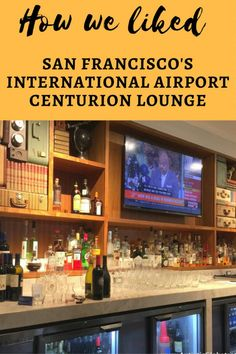 As an American Express Platinum Member, visiting one of theCenturion Loungeshas been on my bucket list for some time. Last week I finally got a chance to try out theSan FranciscoInternational airport's Centurion Lounge.