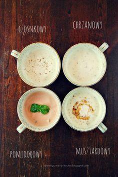Moje Dietetyczne Fanaberie: Lekkie, jogurtowe sosy