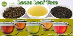 Loose leaf teas possess the ability to eliminate free radicals by up to 100%.