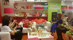 Presentación nuevo LGG5 rosa con Agatha Ruiz de la Prada