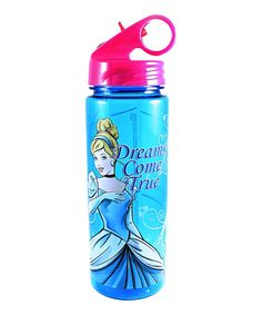 Cinderella 'Dreams Come True' 20-Oz. Water Bottle