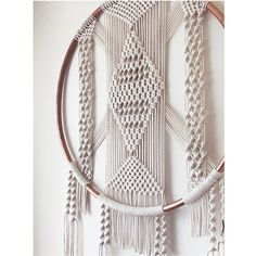 Large Macrame Dreamcatcher