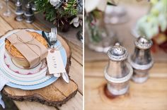 Romantic Woodlands Elopement by Sadie and Co >>> See more over at www.paperandlace.com