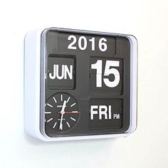 Fartech Horloge calendrier Mural ou à poser M&eacu…