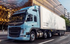 Download wallpapers Volvo FM 460, 2017, globetrotter gas powered new trucks, delivery
