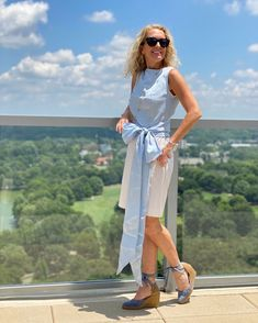 Michelle Edwards (@arebelinprada) • Instagram-Fotos und -Videos Summer Sky, Pastel Shades, Pretty Pastel, Things To Come, White Dress, Tie, Shopping, Beauty, Collection