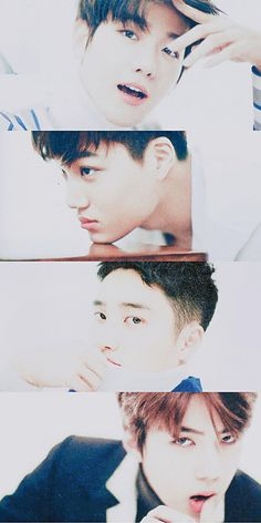 #Baekhyun #Kai #Kyungsoo #Sehun #EXO #EDIT #NONNO_Magazine